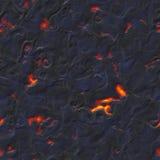 Volcanic magma texture seamless Stock Image
