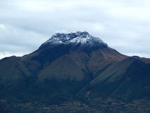 Volcanic mountain in Otavalo, Ecuador Stock Photography