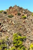 Volcanic mountain Stock Image