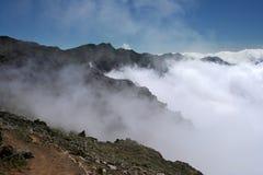 Volcanic mountains Stock Photo
