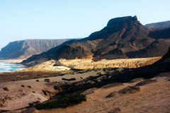Volcanic mountains Stock Images