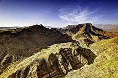 Volcanic Mountains royalty free stock image