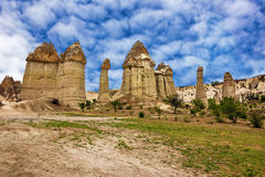 Volcanic mountains in Goreme national park.Cappadocia, Anatolia, Stock Photos