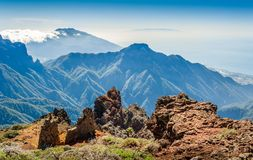 Volcanic mountains landscape. Stock Photography