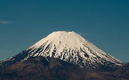 Volcanic Mt Tongariro Royalty Free Stock Photos