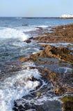 Volcanic ocean coast Royalty Free Stock Photos