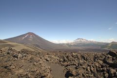 Volcanic Panoramic, Chile Royalty Free Stock Photography