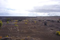 Volcanic Park, Big Island, Hawaii Royalty Free Stock Images