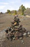 Volcanic Park, Big Island, Hawaii Stock Photos
