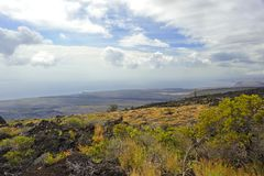 Volcanic Park, Big Island, Hawaii Stock Photo