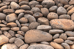 Volcanic Pumice Stone Pebbles Stock Photos