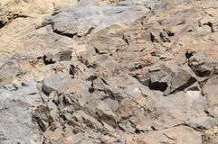 Volcanic rock Stock Image