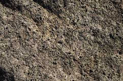Volcanic rock background Royalty Free Stock Photo