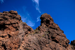 Volcanic Rock Basaltic Formation in Gran Canaria Royalty Free Stock Image