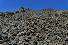 Volcanic rock. Royalty Free Stock Photography