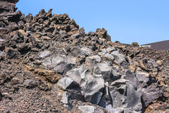 Volcanic rock on Etna, Italy. Royalty Free Stock Photography