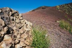 Volcanic rock on Etna, Italy Royalty Free Stock Photos