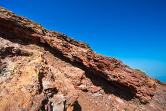 Volcanic rock on Etna, Italy Royalty Free Stock Photography