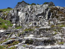 Volcanic Rock formation Royalty Free Stock Photos