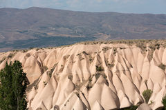 Volcanic rock landscape in Goreme, Cappadocia, Stock Photos