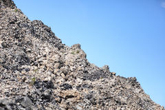 Volcanic rock. And obsidian flow in Deschutes National Forest, Oregon Royalty Free Stock Photography