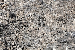 Volcanic rock. And obsidian flow in Deschutes National Forest, Oregon Stock Photo