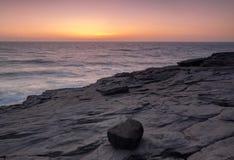 Volcanic rock 2. Photo captured near the beach magoito, sintra Royalty Free Stock Photos