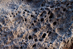 Volcanic rock at Santorini island, Greece Royalty Free Stock Photo