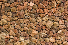 Volcanic rock stone texture background Royalty Free Stock Images
