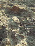 Volcanic rock texture closeup Royalty Free Stock Images