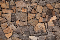 Volcanic rock wall background Stock Image