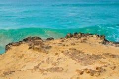 Volcanic rocks in Cape Verde, Africa Stock Images