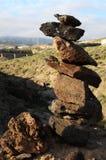 Volcanic Rocks Column Royalty Free Stock Images