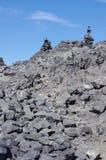 Volcanic rocks Royalty Free Stock Photos