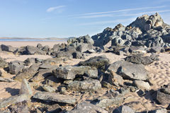 Volcanic rocks Stock Image