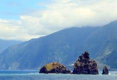 The volcanic rocks Stock Photo