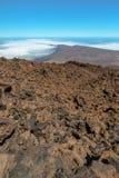 Volcanic Rocks in Teide Stock Photography