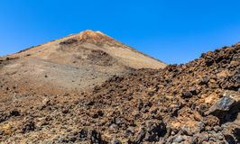 Volcanic Rocks From Teide Royalty Free Stock Photos