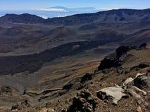 Volcanic sands at Haleakala National Park royalty free stock images