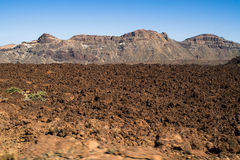 Volcanic scenery Royalty Free Stock Photography