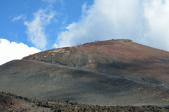 Volcanic slopes of the Mount Etna Stock Photo