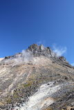 Volcanic smoke Stock Images