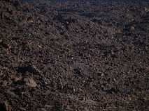 Volcanic soil texture Royalty Free Stock Image