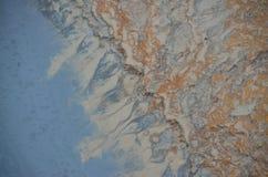 Volcanic soil texture Stock Photos