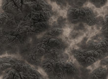 Volcanic solidified lava texture Stock Photography