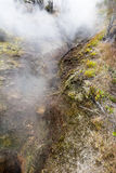 Volcanic steam vents Royalty Free Stock Image