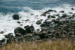 Volcanic Stone Bay at Seopjikoji. Jeju, South Korea Stock Image