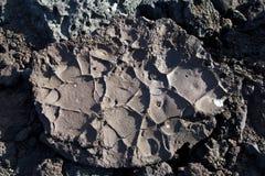 Volcanic stone formation Stock Photos