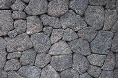 Volcanic stone texture Stock Image