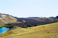Volcanic Terrain, Chile Stock Photo